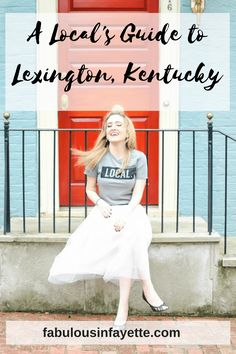 """Everyone who knows me knows how much I love Lexington, hence why my blog is named """"Fabulous In Fayette"""" and is entirely dedicated to it! Fabulous in Fayette is your one-stop place to find out what's happening in Lexington on a weekly basis, where to eat, and amazing events that you can't miss! Lexington is such a great place to live in – between the culture, the amazing local restaurants, the bourbon scene... #sharethelex #lexingtonky #kentucky #shoplocal #visitlex"""