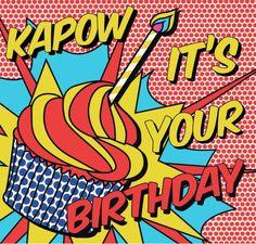 PoPArt Birthday