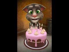 Cantale feliz cumpleaños a talking tom Happy Birthday Song Youtube, Birthday Songs Video, Happy Birthday Video, Happy Birthday Funny, 10th Birthday Parties, Birthday Wishes, Happy Birthday Gif Images, Birthday Candles, Birthdays