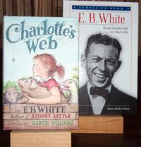 """Jul 11 - ON THIS DAY in 1899, E.B. White, the author of the popular children's novels """"Charlotte's Web,"""" """"Stuart Little"""" and """"The Trumpet of the Swan,"""" was born."""