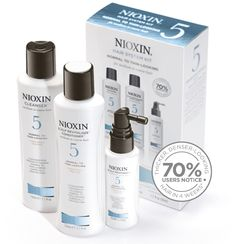 SYSTEM 5  FOR FULLER-LOOKING, MOISTURIZED HAIR.  System 5 is specially designed for normal to thin-looking, medium to coarse, natural or chemically-treated hair. It delivers smoothing control to hair while refreshing the scalp and restoring moisture balance.