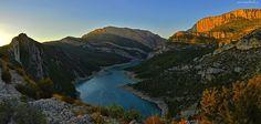 Góry, Jezioro, Las, Hiszpania