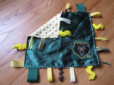 Fun #Baylor Ribbon Loop Blanket for Baby Bears! (found on Etsy)