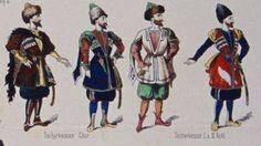 Circassian costumes, Çerkes kostümler, plates