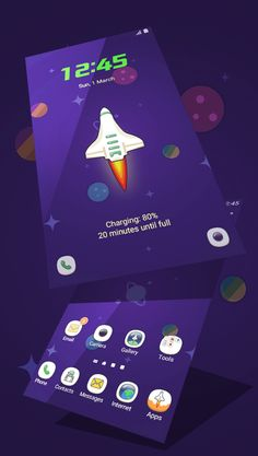 #space #new #theme