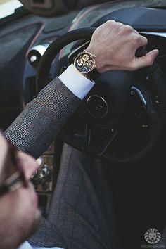 "gentlemansessentials: ""Arnold & Son Gentleman's Essentials "" Dapper Gentleman, Gentleman Style, Modern Gentleman, Sharp Dressed Man, Well Dressed Men, Fashion Mode, Fashion Week, Luxury Fashion, Fashion Outfits"