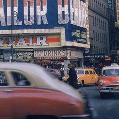 "jazzyfarmer:  ""Walker Evans   New York 1952  """