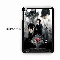 manga adaptations death note for custom case Ipad Mini 2/Ipad Mini 3/Ipad Mini 4