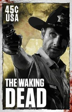 The Walking Dead, Rick Grimes, Stamps on Behance