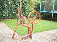 Spinnrad aus Holz in Niedersachsen - Buchholz in der Nordheide | Basteln, Handarbeiten und Kunsthandwerk | eBay Kleinanzeigen