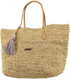 The Oak shopper is a perfect beach bag. Big enough to fit al of your beach essentials! The shopper is available in three different colours. #barts #accessories #summer #2016 #oak #shopper #natural
