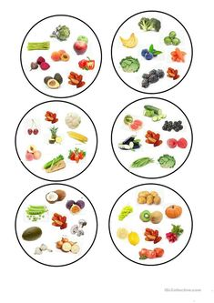 Dobble fruit and vegetables worksheet Free ESL printable worksheets made by teachers : fruit and vegetables. worksheet - Free ESL printable worksheets made by teachers Fruit And Veg, Fruits And Vegetables, Free Fruit, Printable Worksheets, Printables, Teaching Jobs, Teaching Vocabulary, Chunky Yarn, Elementary Schools