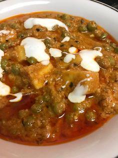 No onion-garlic Matar Paneer Masala - Wealth of Food Jain Recipes, Paneer Recipes, Garlic Recipes, Veg Recipes, Curry Recipes, Indian Food Recipes, Gourmet Recipes, Cooking Recipes, Healthy Recipes