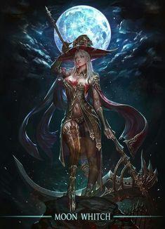 fantasy Art Now Fantasy Witch, Anime Fantasy, Dark Fantasy Art, Fantasy Girl, Fantasy Artwork, Fantasy Kunst, Witch Art, Fantasy Warrior, Fantasy Women