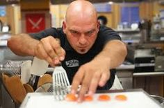 I'm so in love with Chef Michael Symon right now!