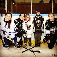 Little Hockey Stars with the Big Hockey Stars