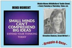 ^GLOBAL Gracious Greeting,  (Mindset Monday) August 31, 2015   Why are you listening to people who have no idea what you are capable of tell you what you can't do. Until you are able to rise above the limiting ideas of others and step into your own greatness will you obtain the power to serve them. The question is are you ready?   The world is waiting for your vision! The world is waiting for your dream! What are you waiting for?  #Droppin-A-Dose  (MsDarci')