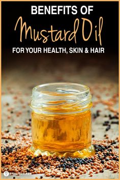 22 Fantastic Benefits Of Mustard Oil (Sarson Ka Tel) For Your Health, Skin, And Hair benefits health Mustard Oil Benefits, Olive Oil Hair Benefits, Mustard Oil For Hair, Hair Design For Wedding, Avocado Health Benefits, Healthy Hair Tips, Healthy Oils, Healthy Detox, Healthy Food