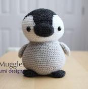 Amigurumi Pattern - Pippin the Penguin - via @Craftsy