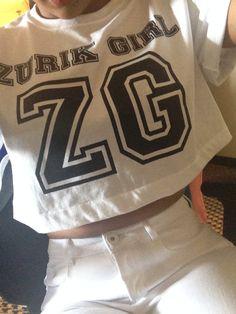 Our ZG statement Tee was so rad this summer it was definitely a ZG summer must have #Zurikgirl.