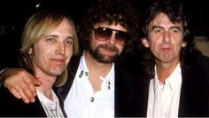 Tom Petty, Jeff Lynne & George Harrison
