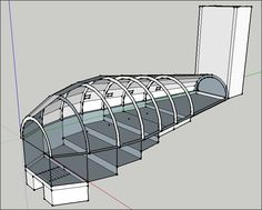 drawing of an anagama/tube kiln using google sketch up A basic wood fired tube kiln or anagama can be made with minimal brick...