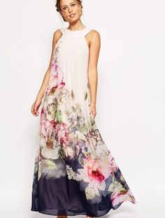 Melissa masse caftan maxi dress