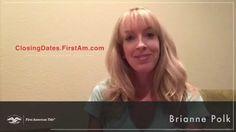 Brianne Polk   Online Closing/Consummation Date Timing Calculator   Firs...