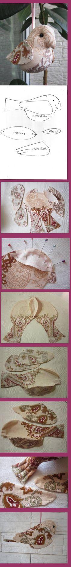 Bird Patterns, Doll Patterns, Sewing Patterns, Sewing Toys, Sewing Crafts, Sewing Projects, Bird Crafts, Doll Crafts, Felt Birds