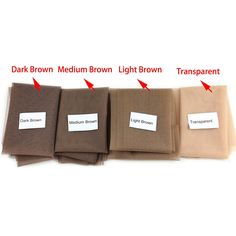 Dreambeauty Swiss Lace Net for Making Wig Medium Brown Color Lace for Wig Making or Ventilating Lace Wig Cap Lace front or Full Lace Weaving Yard) Lace Weave, Dark Brown Color, Wig Making, Creative Hairstyles, Wig Cap, Free Hair, French Lace, Hair Tools, Medium Brown