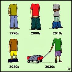 Fashion Evolution Goes wrong