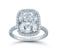 The Cushion Cut Larisa Setting - Micro-Pave - Engagement Rings