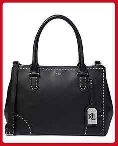 Lauren Ralph Lauren Rothwell Double Zip Large Leather Satchel - Satchels (*Amazon Partner-Link)