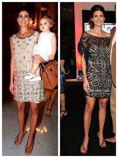 Style Inspiration: Juliana Awada –the angles of lines on her shoes.