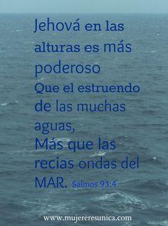 Dios es poderoso  www.mujereresunica.com
