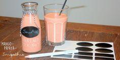 Mango-Papaya-Frühstück