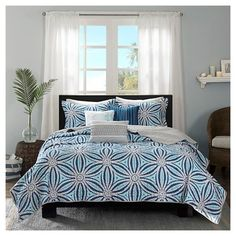 Croix Kaleidoscope Quilted Coverlet Set - 6pc : Target