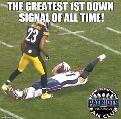 And that's the closest a Pittsburgh player got to covering Gronk all day.