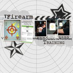 Family Album 2012: Firearm Training   Pixel Scrapper digital scrapbooking