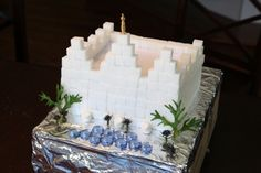 Build a temple out of sugar cubes!  My crafty little ones are going to love this!