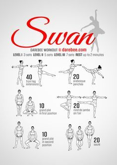 "Ballet ""Swan"" Workout"