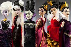 Disney-Villains Dolls
