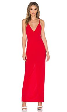 Toby Heart Ginger x Love Indie Polly Maxi Dress in Red | REVOLVE