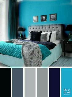 Apartment Color Schemes, House Color Schemes, Bedroom Color Schemes, Bedroom Colors, House Colors, Modern Living Room Paint, Interior Design Living Room, Modern Office Decor, Bedroom Decor For Teen Girls
