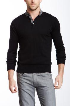 Long Sleeve Polo on HauteLook