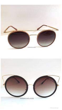 Óculos de sol fashion com lente gradiente marrom e armação preto com ... 7d7d2ca7e7