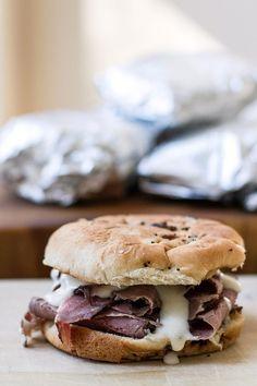 Hot Roast Beef Sandwiches | Girl Gone Gourmet