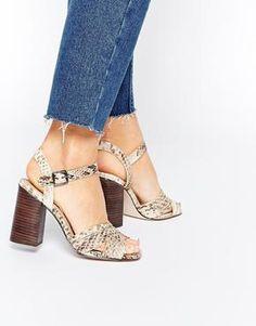 ASOS HYMN Heeled Sandals at asos.com #shoes #covetme