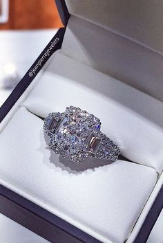15 Three Stone Engagement Rings You Will Want ❤ See more: http://www.weddingforward.com/three-stone-engagement-rings/ #wedding #three #stone #engagement  #rings