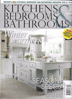 Photos Of Kitchen Bedrooms and Bathrooms magazine Winter season special Festive gifts